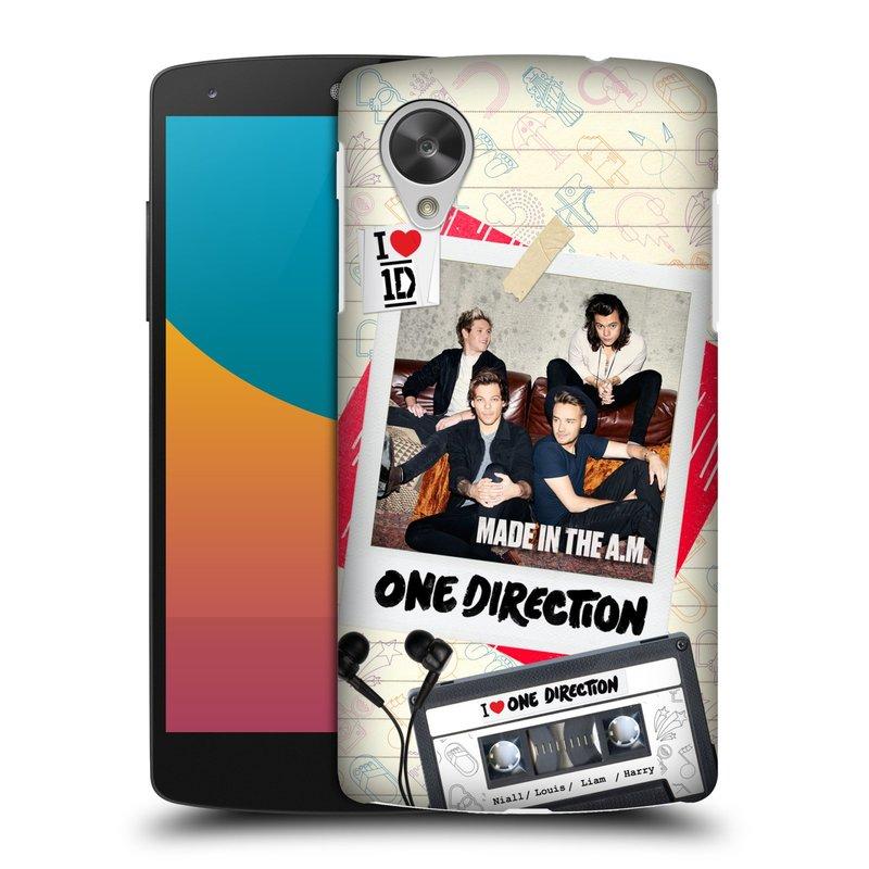 Plastové pouzdro na mobil LG Nexus 5 HEAD CASE One Direction - Kazeta (Kryt či obal One Direction Official na mobilní telefon LG Google Nexus 5 D821)