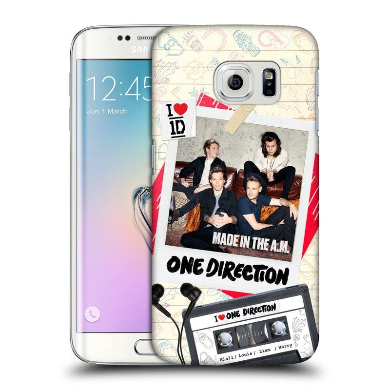 Plastové pouzdro na mobil Samsung Galaxy S6 Edge HEAD CASE One Direction - Kazeta (Kryt či obal One Direction Official na mobilní telefon Samsung Galaxy S6 Edge SM-G925F)