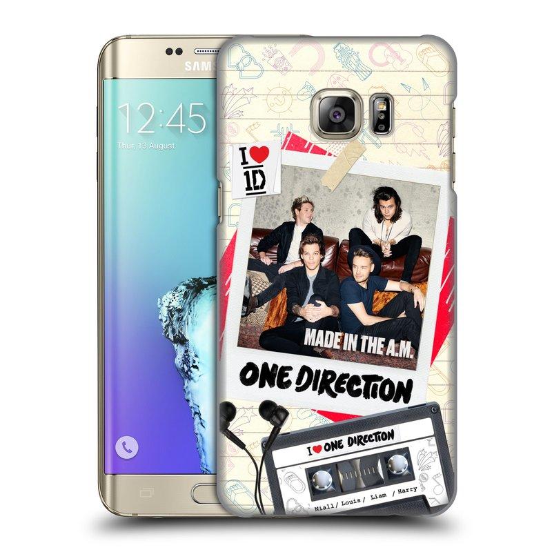 Plastové pouzdro na mobil Samsung Galaxy S6 Edge Plus HEAD CASE One Direction - Kazeta (Kryt či obal One Direction Official na mobilní telefon Samsung Galaxy S6 Edge Plus SM-G928F)