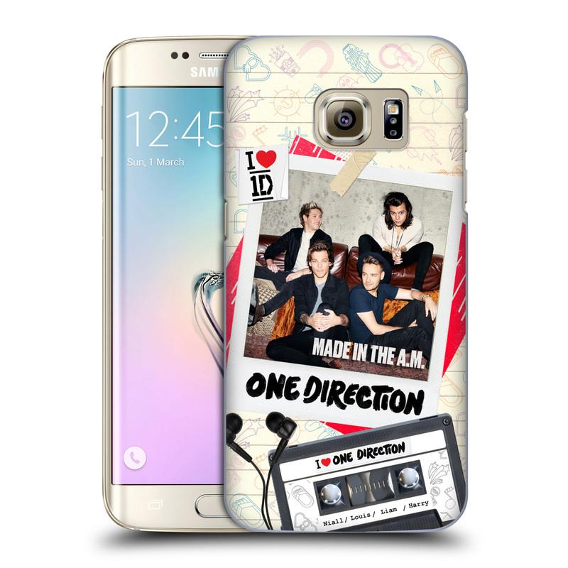Plastové pouzdro na mobil Samsung Galaxy S7 Edge HEAD CASE One Direction - Kazeta (Kryt či obal One Direction Official na mobilní telefon Samsung Galaxy S7 Edge SM-G935F)