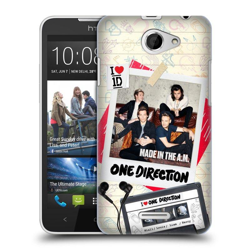 Plastové pouzdro na mobil HTC Desire 516 HEAD CASE One Direction - Kazeta (Kryt či obal One Direction Official na mobilní telefon HTC Desire 516 Dual SIM)