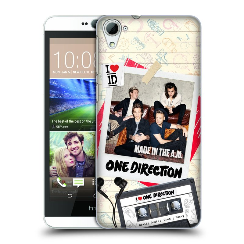 Plastové pouzdro na mobil HTC Desire 826 HEAD CASE One Direction - Kazeta (Kryt či obal One Direction Official na mobilní telefon HTC Desire 826 Dual SIM)