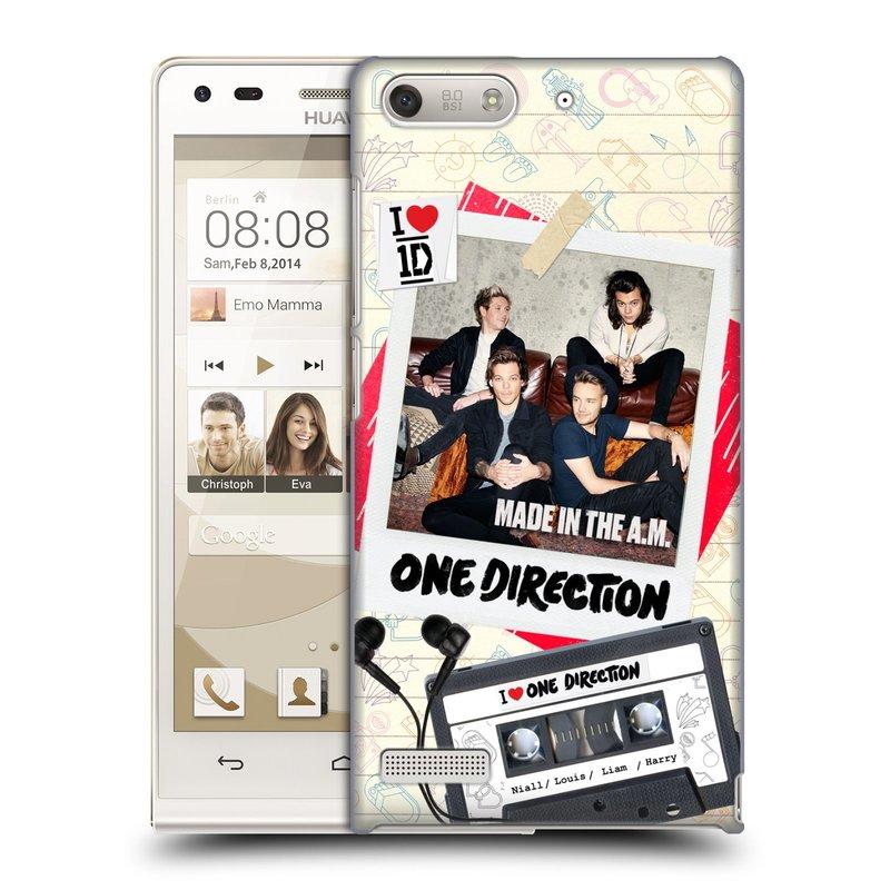 Plastové pouzdro na mobil Huawei Ascend G6 HEAD CASE One Direction - Kazeta (Kryt či obal One Direction Official na mobilní telefon Huawei Ascend G6 bez LTE)