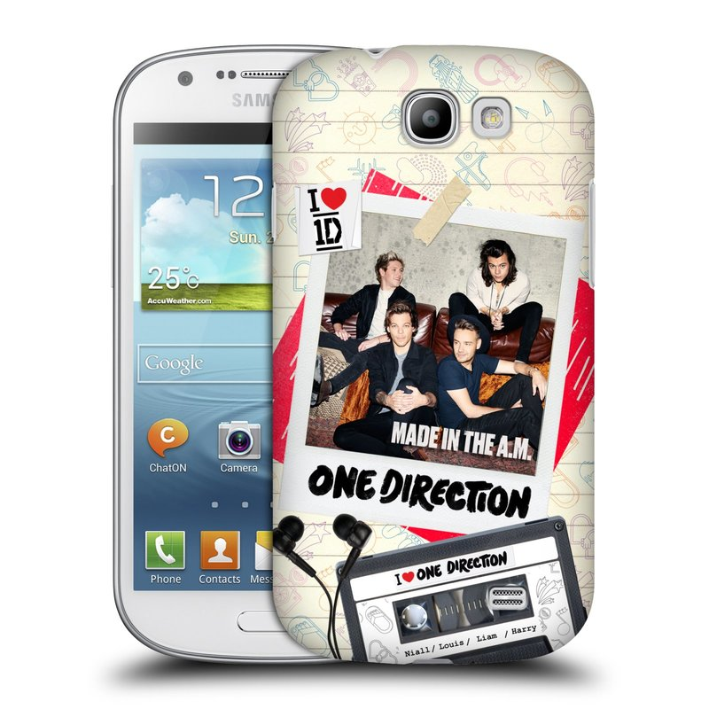 Plastové pouzdro na mobil Samsung Galaxy Express HEAD CASE One Direction - Kazeta (Kryt či obal One Direction Official na mobilní telefon Samsung Galaxy Express GT-i8730)