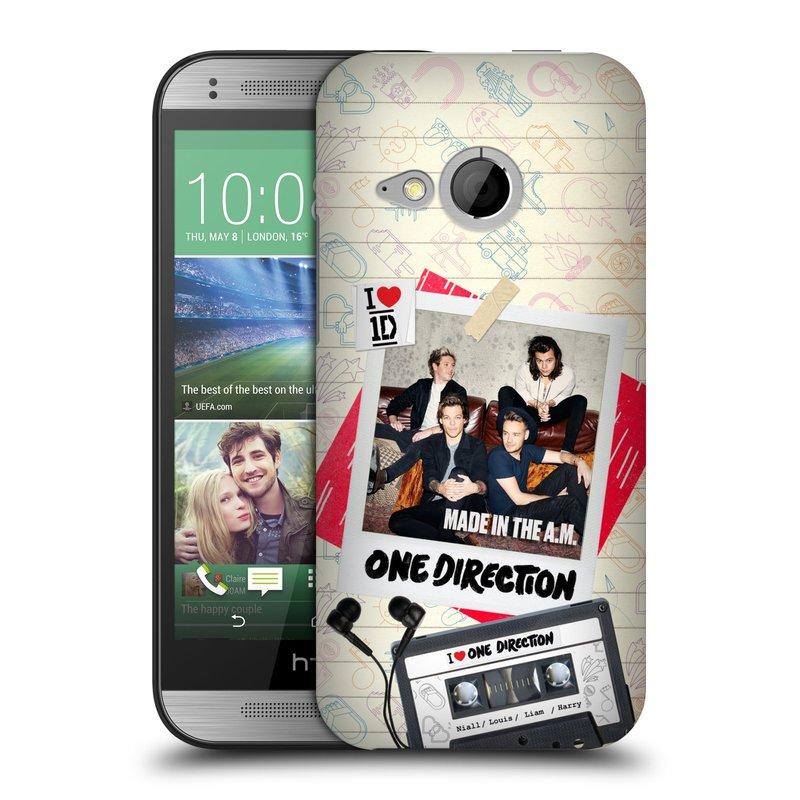 Plastové pouzdro na mobil HTC ONE Mini 2 HEAD CASE One Direction - Kazeta (Kryt či obal One Direction Official na mobilní telefon HTC ONE Mini 2)