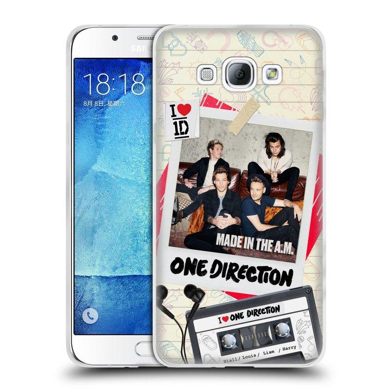 Silikonové pouzdro na mobil Samsung Galaxy A8 HEAD CASE One Direction - Kazeta (Silikonový kryt či obal One Direction Official na mobilní telefon Samsung Galaxy A8 SM-A800)