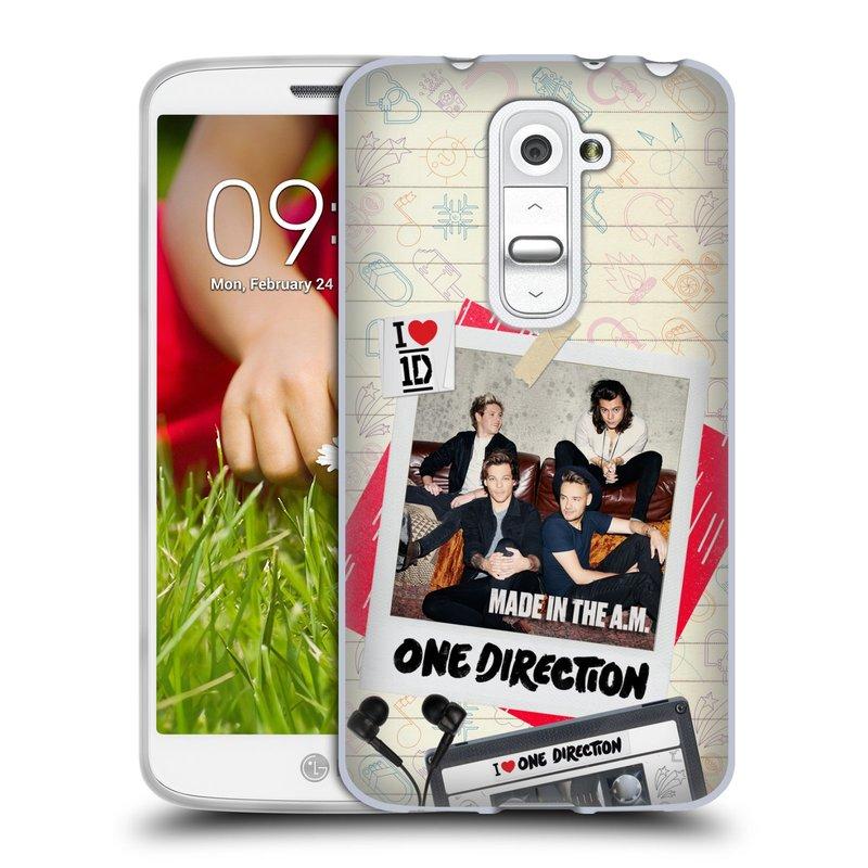 Silikonové pouzdro na mobil LG G2 Mini HEAD CASE One Direction - Kazeta (Silikonový kryt či obal One Direction Official na mobilní telefon LG G2 Mini D620)