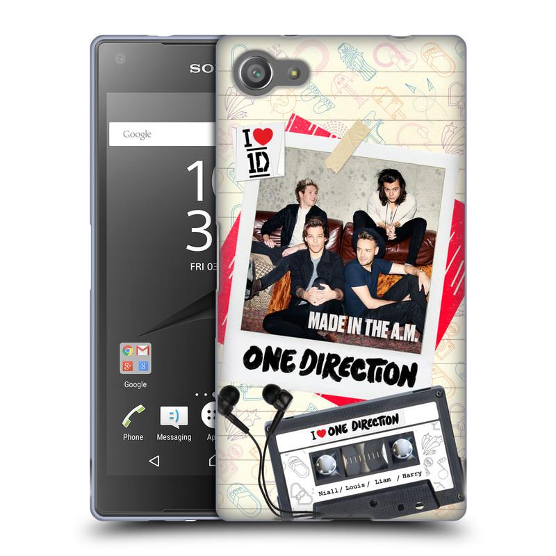 Silikonové pouzdro na mobil Sony Xperia Z5 Compact HEAD CASE One Direction - Kazeta (Silikonový kryt či obal One Direction Official na mobilní telefon Sony Xperia Z5 Compact E5823)