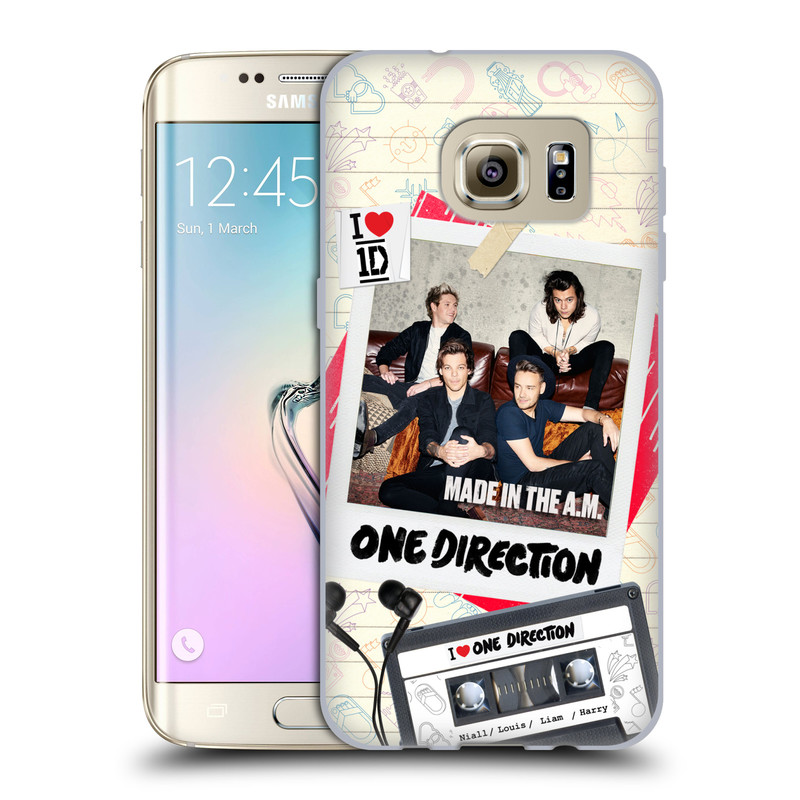 Silikonové pouzdro na mobil Samsung Galaxy S7 Edge HEAD CASE One Direction - Kazeta (Silikonový kryt či obal One Direction Official na mobilní telefon Samsung Galaxy S7 Edge SM-G935F)