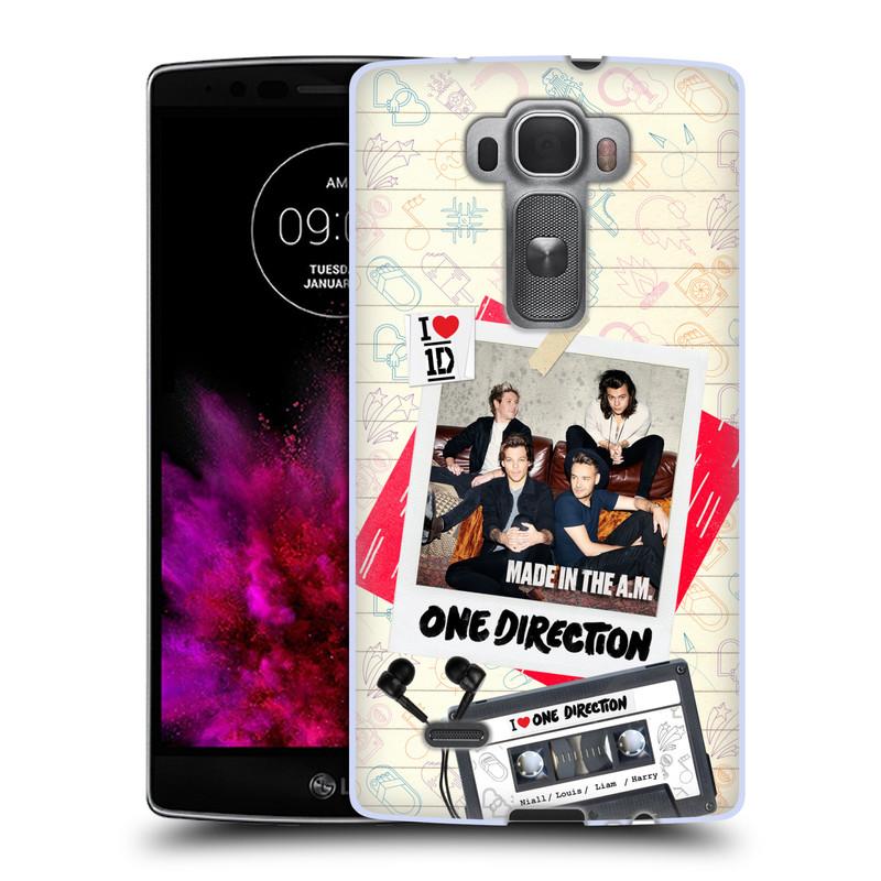 Silikonové pouzdro na mobil LG G Flex 2 HEAD CASE One Direction - Kazeta (Silikonový kryt či obal One Direction Official na mobilní telefon LG G Flex 2 H955)