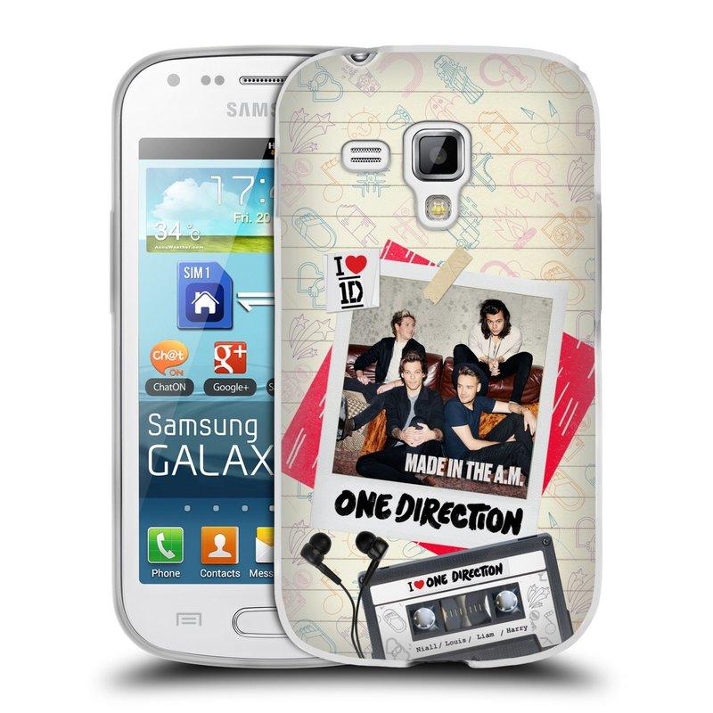 Silikonové pouzdro na mobil Samsung Galaxy Trend HEAD CASE One Direction - Kazeta (Silikonový kryt či obal One Direction Official na mobilní telefon Samsung Galaxy Trend GT-S7560)