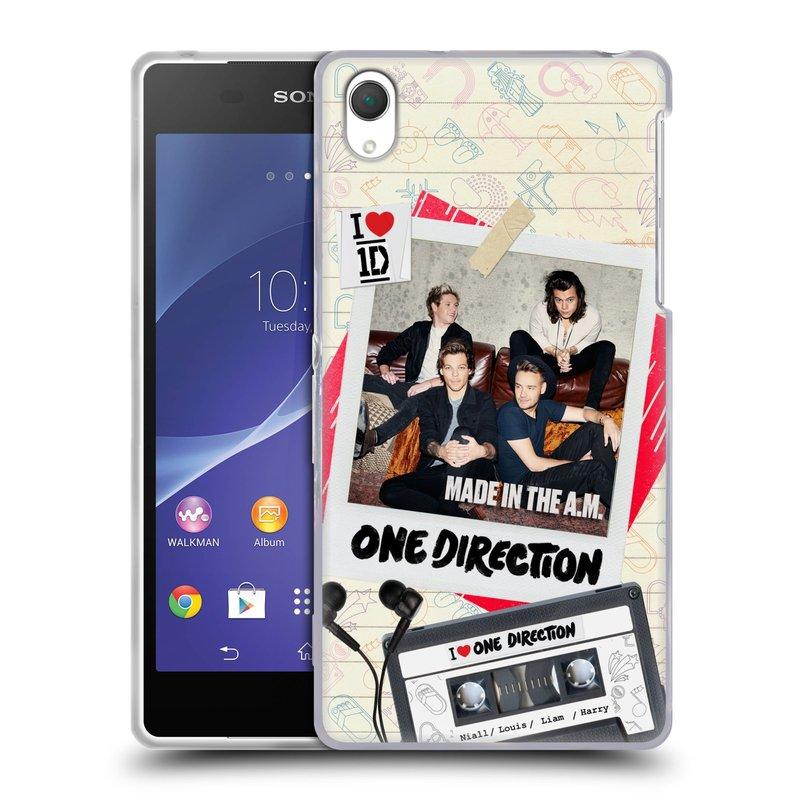 Silikonové pouzdro na mobil Sony Xperia Z2 D6503 HEAD CASE One Direction - Kazeta (Silikonový kryt či obal One Direction Official na mobilní telefon Sony Xperia Z2)