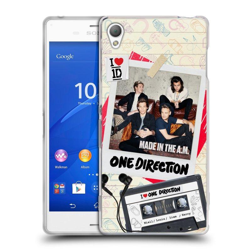 Silikonové pouzdro na mobil Sony Xperia Z3 D6603 HEAD CASE One Direction - Kazeta (Silikonový kryt či obal One Direction Official na mobilní telefon Sony Xperia Z3)