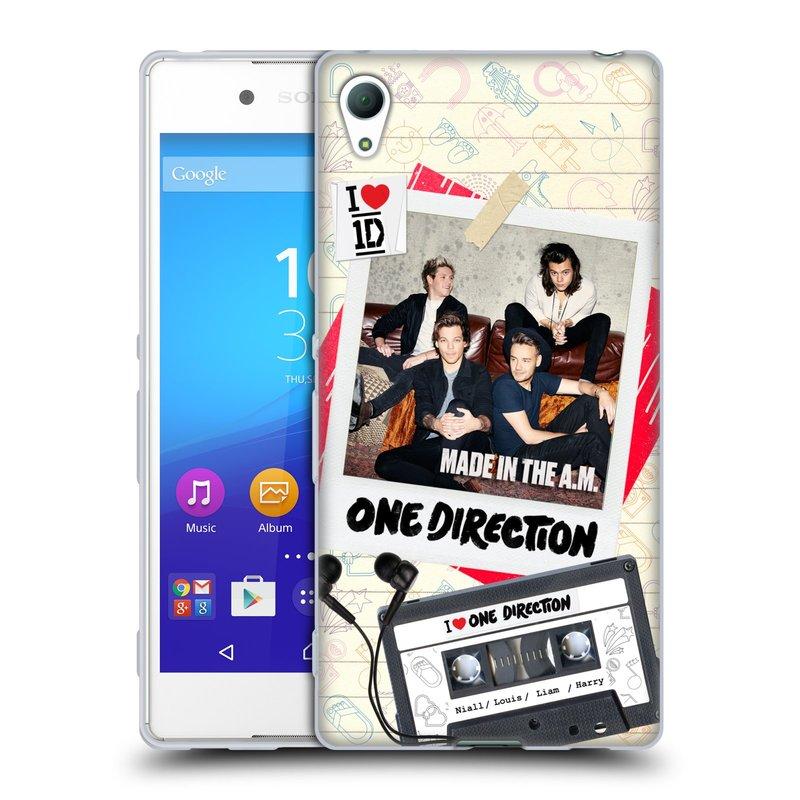 Silikonové pouzdro na mobil Sony Xperia Z3+ (Plus) HEAD CASE One Direction - Kazeta (Silikonový kryt či obal One Direction Official na mobilní telefon Sony Xperia Z3+ / Z4 E6553)