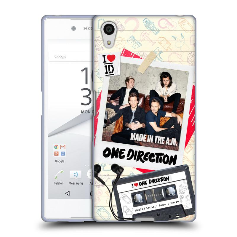 Silikonové pouzdro na mobil Sony Xperia Z5 HEAD CASE One Direction - Kazeta (Silikonový kryt či obal One Direction Official na mobilní telefon Sony Xperia Z5 E6653)