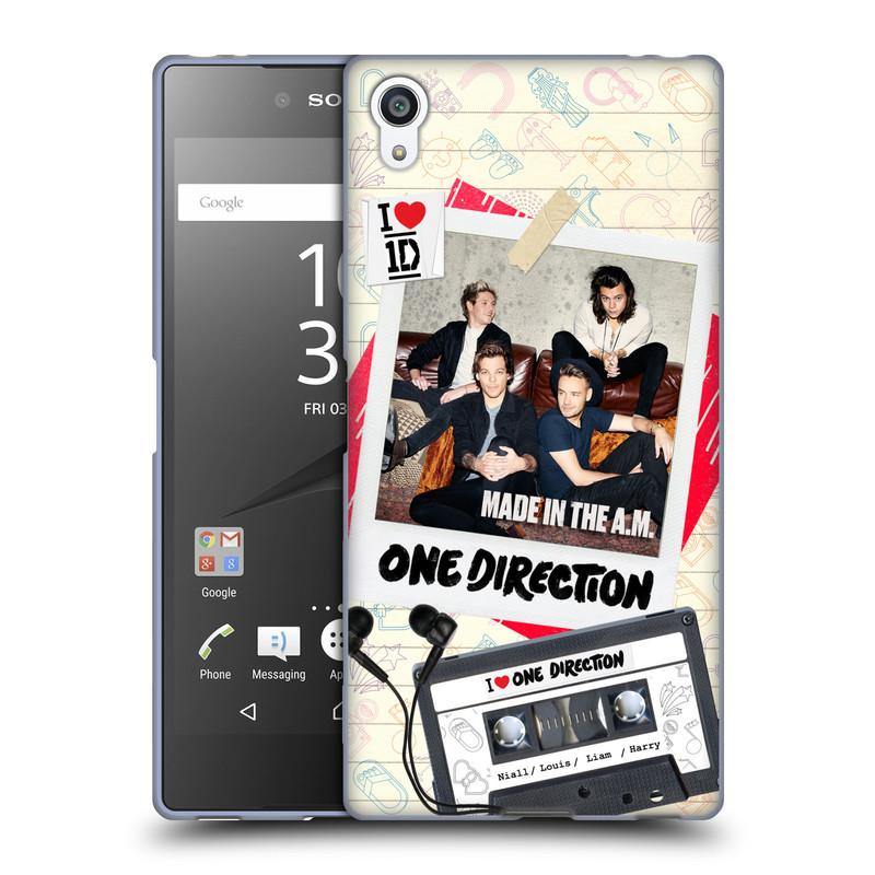 Silikonové pouzdro na mobil Sony Xperia Z5 Premium HEAD CASE One Direction - Kazeta (Silikonový kryt či obal One Direction Official na mobilní telefon Sony Xperia Z5 Premium E6853)