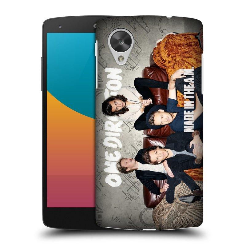 Plastové pouzdro na mobil LG Nexus 5 HEAD CASE One Direction - Na Gaučíku (Kryt či obal One Direction Official na mobilní telefon LG Google Nexus 5 D821)
