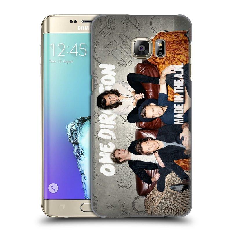Plastové pouzdro na mobil Samsung Galaxy S6 Edge Plus HEAD CASE One Direction - Na Gaučíku (Kryt či obal One Direction Official na mobilní telefon Samsung Galaxy S6 Edge Plus SM-G928F)