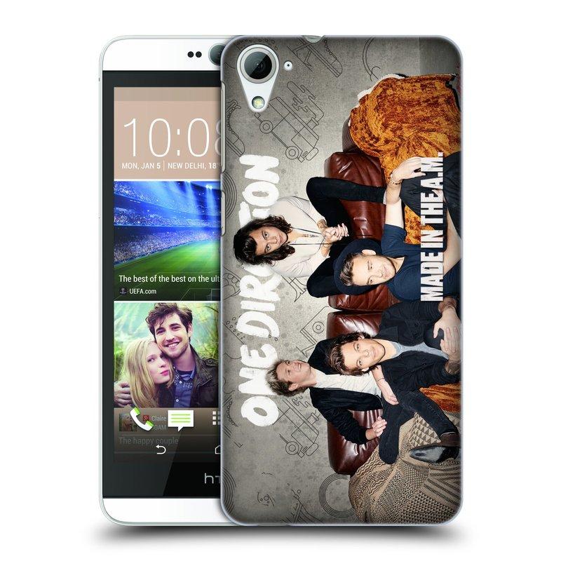 Plastové pouzdro na mobil HTC Desire 826 HEAD CASE One Direction - Na Gaučíku (Kryt či obal One Direction Official na mobilní telefon HTC Desire 826 Dual SIM)