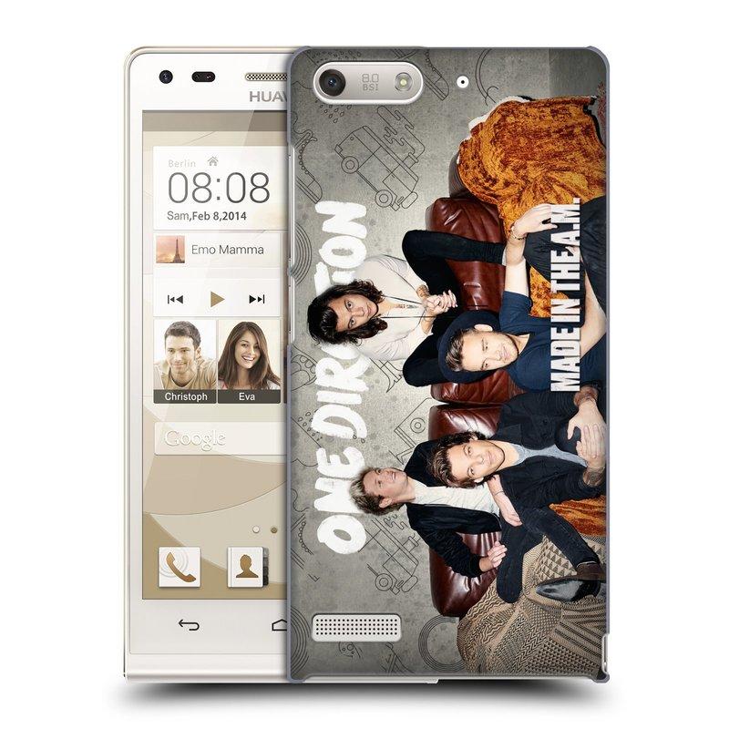 Plastové pouzdro na mobil Huawei Ascend G6 HEAD CASE One Direction - Na Gaučíku (Kryt či obal One Direction Official na mobilní telefon Huawei Ascend G6 bez LTE)