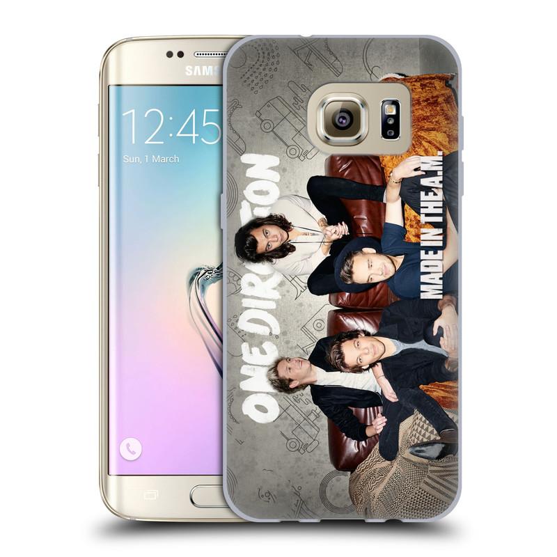 Silikonové pouzdro na mobil Samsung Galaxy S7 Edge HEAD CASE One Direction - Na Gaučíku (Silikonový kryt či obal One Direction Official na mobilní telefon Samsung Galaxy S7 Edge SM-G935F)