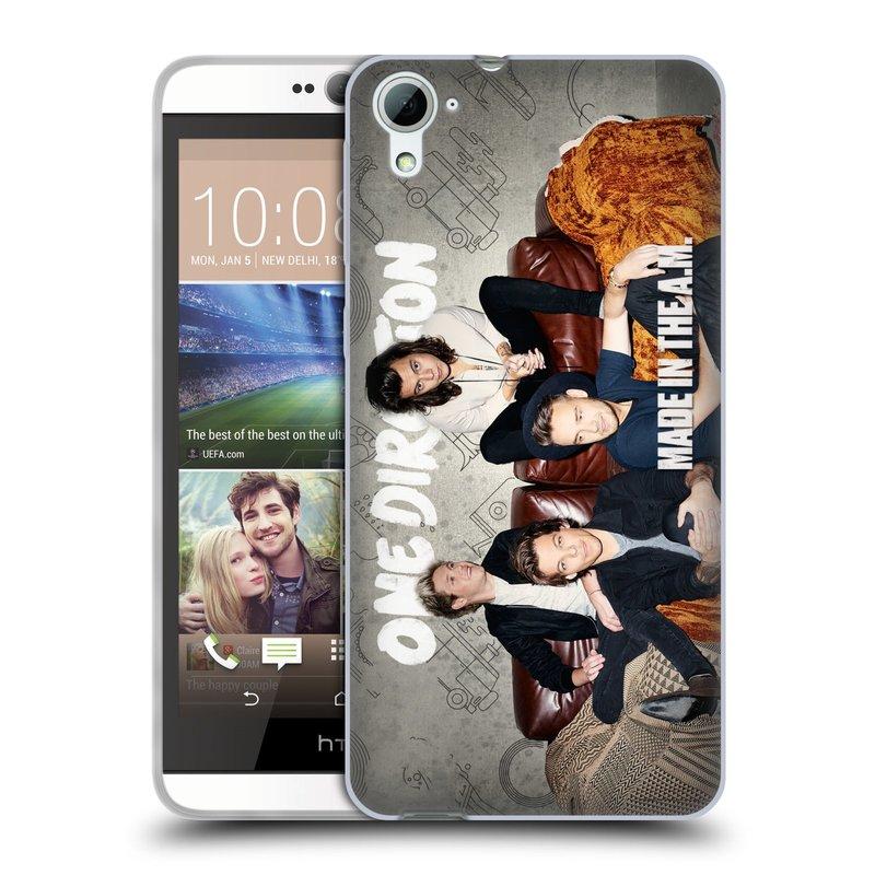 Silikonové pouzdro na mobil HTC Desire 826 HEAD CASE One Direction - Na Gaučíku (Silikonový kryt či obal One Direction Official na mobilní telefon HTC Desire 826 Dual SIM)