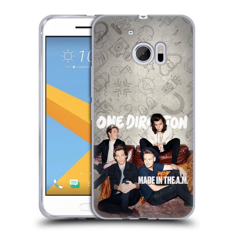 Silikonové pouzdro na mobil HTC 10 HEAD CASE One Direction - Na Gaučíku (Silikonový kryt či obal One Direction Official na mobilní telefon HTC 10 (HTC One M10))