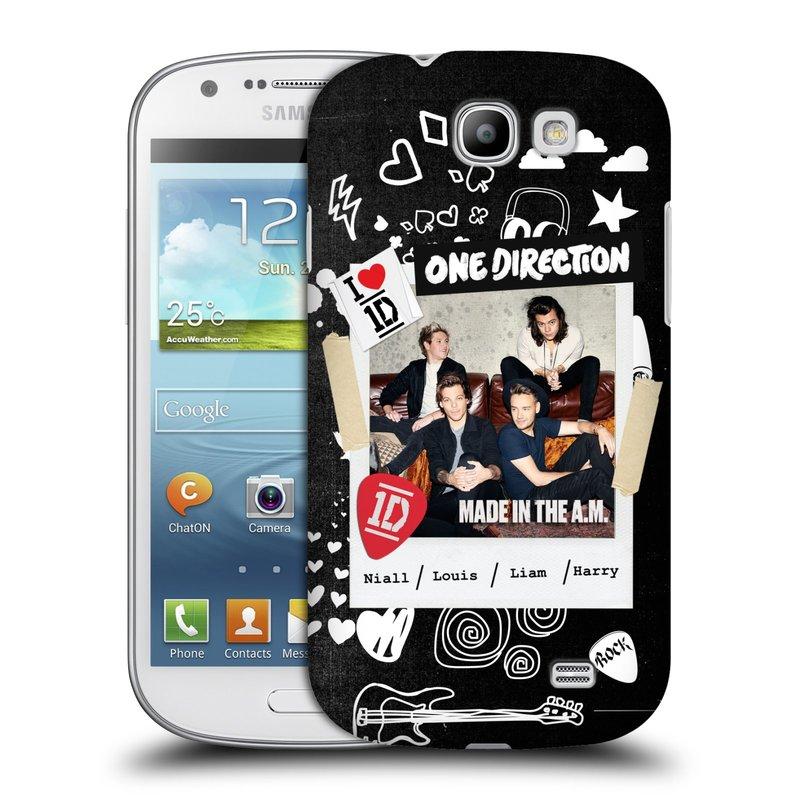 Plastové pouzdro na mobil Samsung Galaxy Express HEAD CASE One Direction - S kytárou (Kryt či obal One Direction Official na mobilní telefon Samsung Galaxy Express GT-i8730)