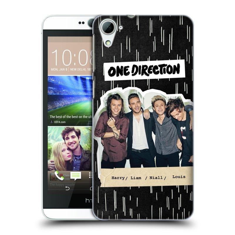 Plastové pouzdro na mobil HTC Desire 826 HEAD CASE One Direction - Sticker Partička (Kryt či obal One Direction Official na mobilní telefon HTC Desire 826 Dual SIM)