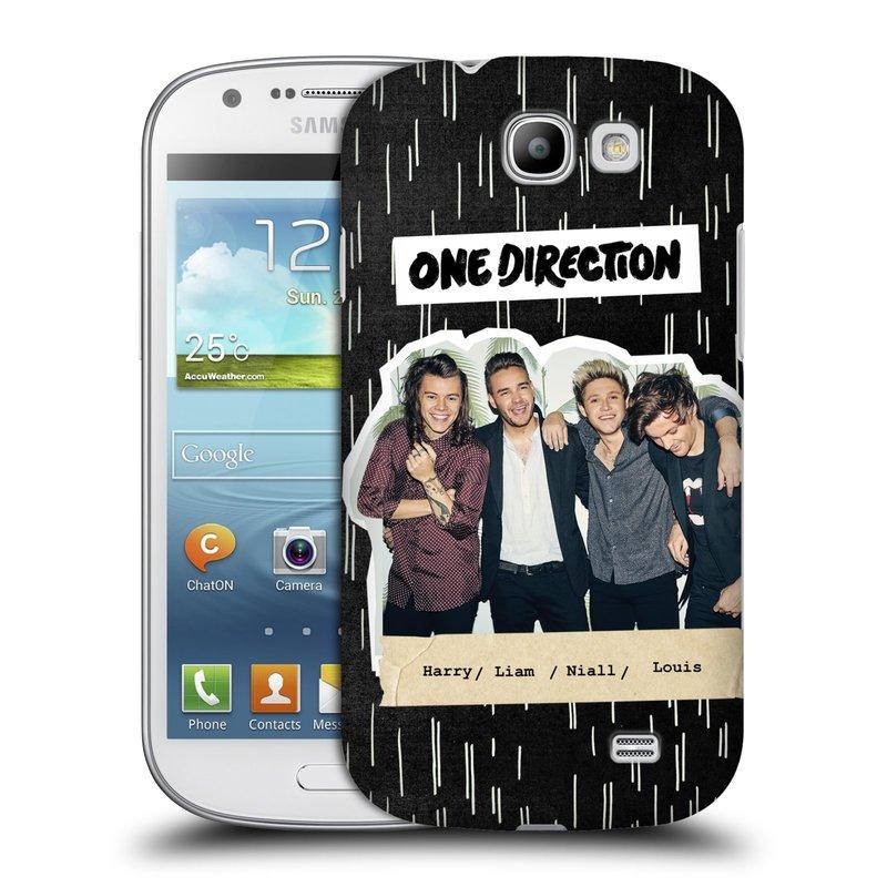 Plastové pouzdro na mobil Samsung Galaxy Express HEAD CASE One Direction - Sticker Partička (Kryt či obal One Direction Official na mobilní telefon Samsung Galaxy Express GT-i8730)