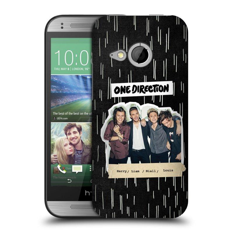 Plastové pouzdro na mobil HTC ONE Mini 2 HEAD CASE One Direction - Sticker Partička (Kryt či obal One Direction Official na mobilní telefon HTC ONE Mini 2)