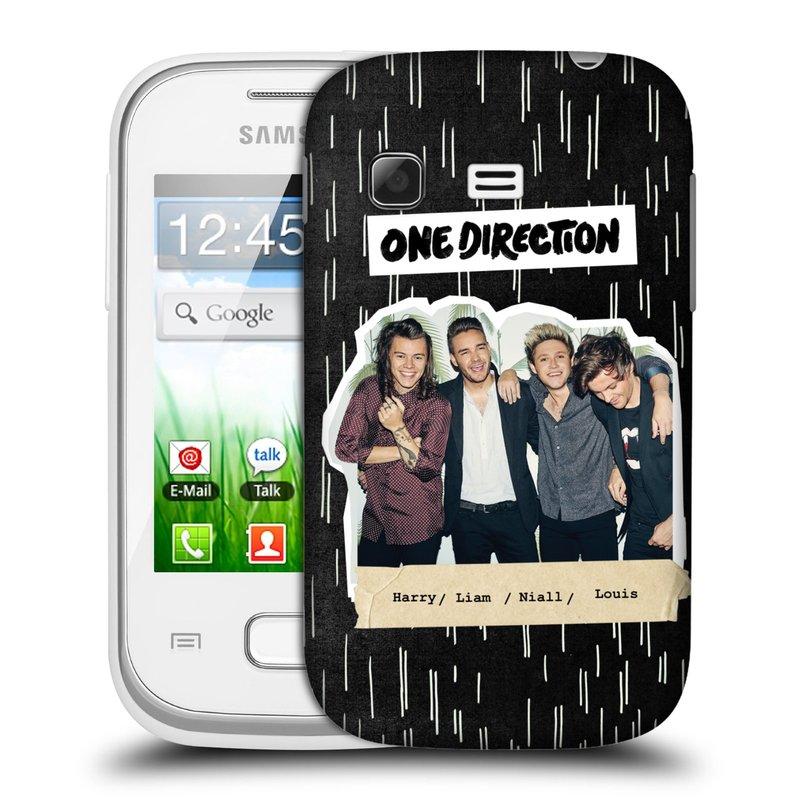 Plastové pouzdro na mobil Samsung Galaxy Pocket HEAD CASE One Direction - Sticker Partička (Kryt či obal One Direction Official na mobilní telefon Samsung Galaxy Pocket GT-S5300)