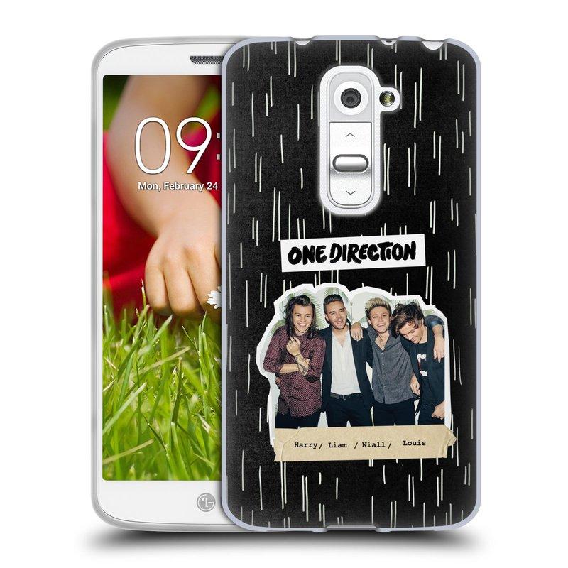 Silikonové pouzdro na mobil LG G2 Mini HEAD CASE One Direction - Sticker Partička (Silikonový kryt či obal One Direction Official na mobilní telefon LG G2 Mini D620)