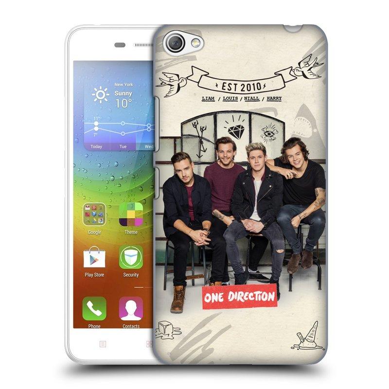 Plastové pouzdro na mobil Lenovo S60 HEAD CASE One Direction - EST 2010 (Kryt či obal One Direction Official na mobilní telefon Lenovo S60)