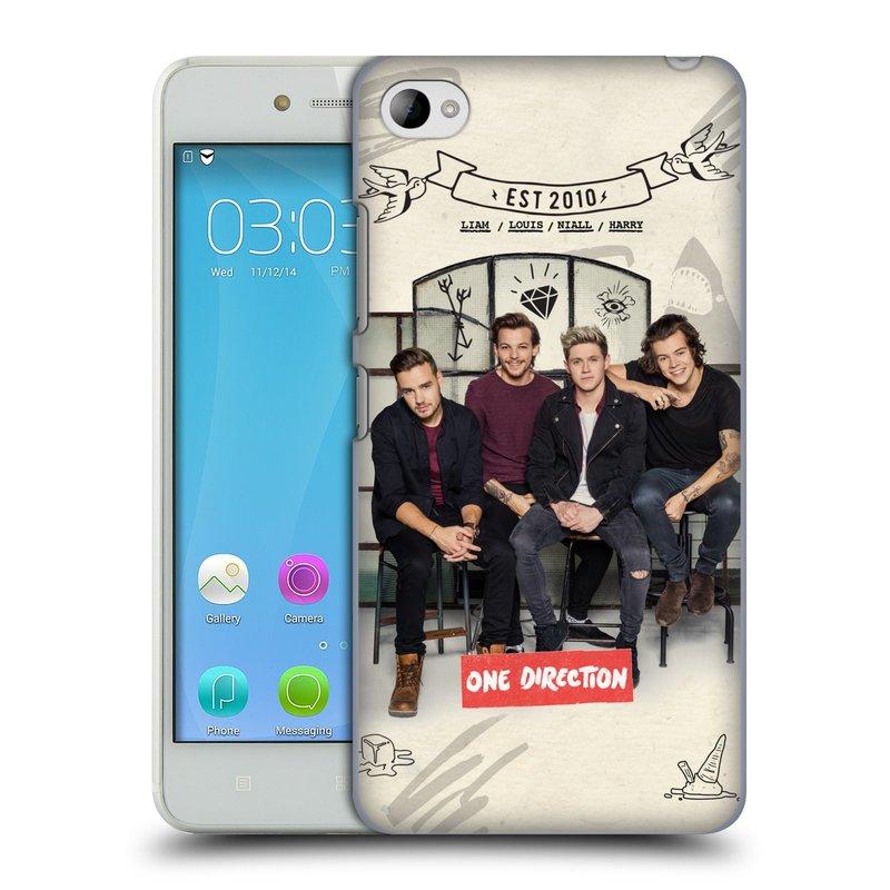 Plastové pouzdro na mobil Lenovo S90 HEAD CASE One Direction - EST 2010 (Kryt či obal One Direction Official na mobilní telefon Lenovo S90)