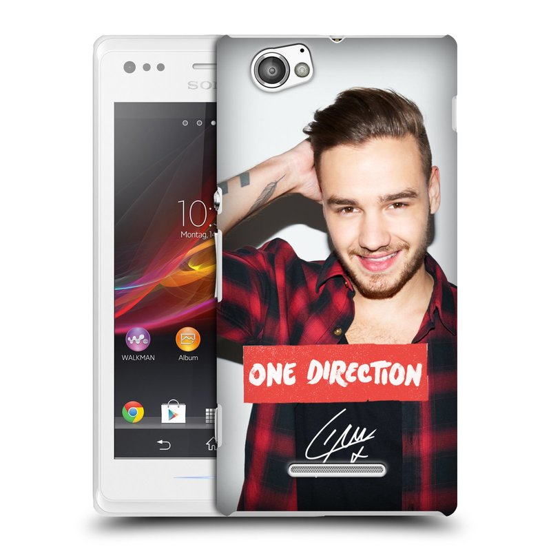 Plastové pouzdro na mobil Sony Xperia M C1905 HEAD CASE One Direction - Liam (Kryt či obal One Direction Official na mobilní telefon Sony Xperia M )