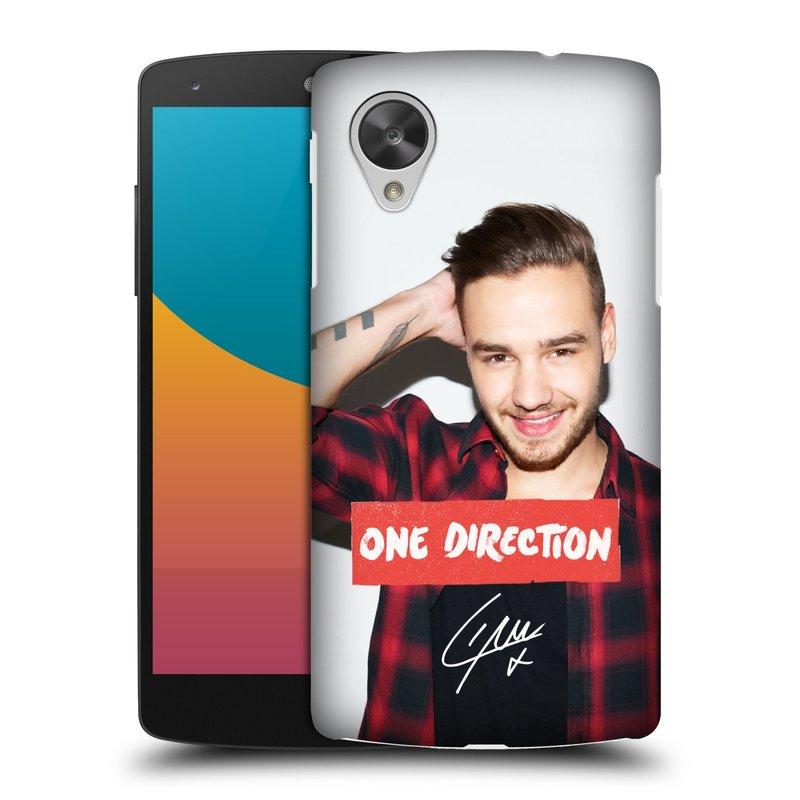 Plastové pouzdro na mobil LG Nexus 5 HEAD CASE One Direction - Liam (Kryt či obal One Direction Official na mobilní telefon LG Google Nexus 5 D821)