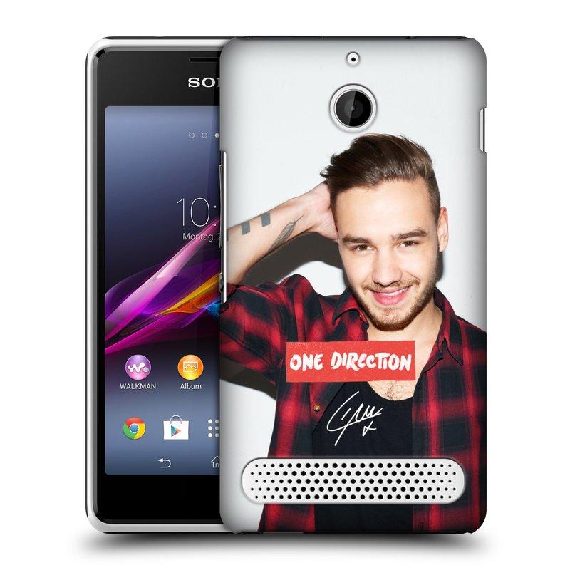 Plastové pouzdro na mobil Sony Xperia E1 D2005 HEAD CASE One Direction - Liam (Kryt či obal One Direction Official na mobilní telefon Sony Xperia E1 a E1 Dual)
