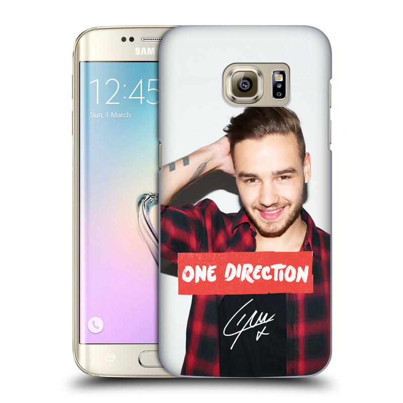 Plastové pouzdro na mobil Samsung Galaxy S7 Edge HEAD CASE One Direction - Liam (Kryt či obal One Direction Official na mobilní telefon Samsung Galaxy S7 Edge SM-G935F)