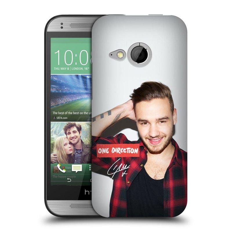 Plastové pouzdro na mobil HTC ONE Mini 2 HEAD CASE One Direction - Liam (Kryt či obal One Direction Official na mobilní telefon HTC ONE Mini 2)