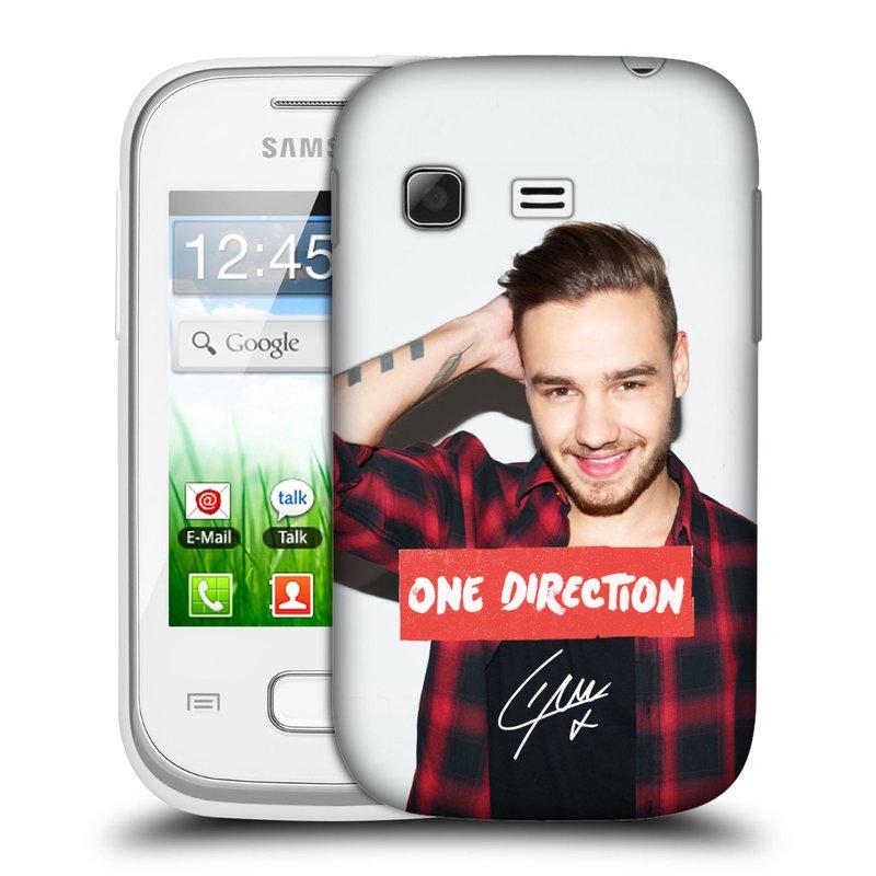 Plastové pouzdro na mobil Samsung Galaxy Pocket HEAD CASE One Direction - Liam (Kryt či obal One Direction Official na mobilní telefon Samsung Galaxy Pocket GT-S5300)