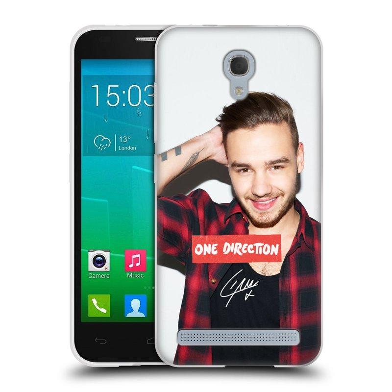 Silikonové pouzdro na mobil Alcatel One Touch Idol 2 Mini S 6036Y HEAD CASE One Direction - Liam (Silikonový kryt či obal One Direction Official na mobilní telefon Alcatel Idol 2 Mini S OT-6036Y)