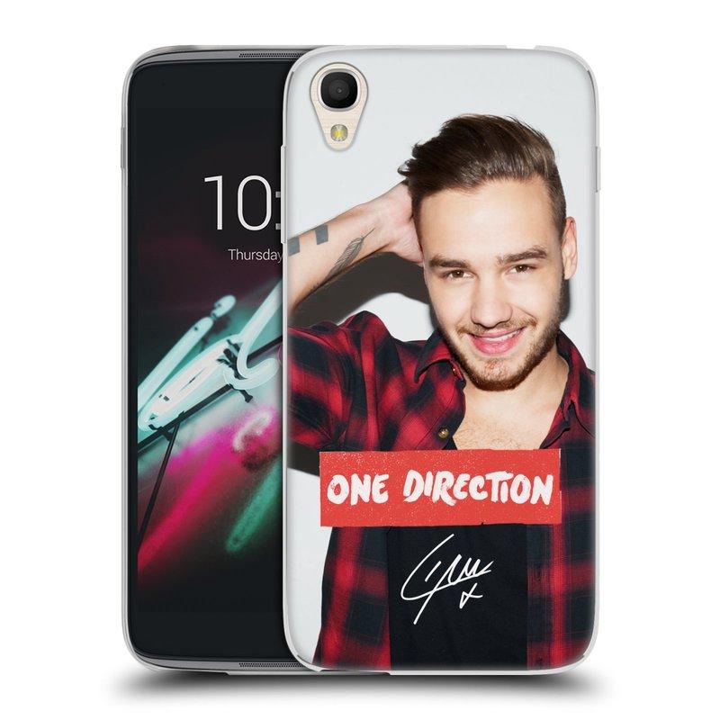 """Silikonové pouzdro na mobil Alcatel One Touch 6039Y Idol 3 HEAD CASE One Direction - Liam (Silikonový kryt či obal One Direction Official na mobilní telefon Alcatel One Touch Idol 3 OT-6039Y s 4,7"""" displejem)"""