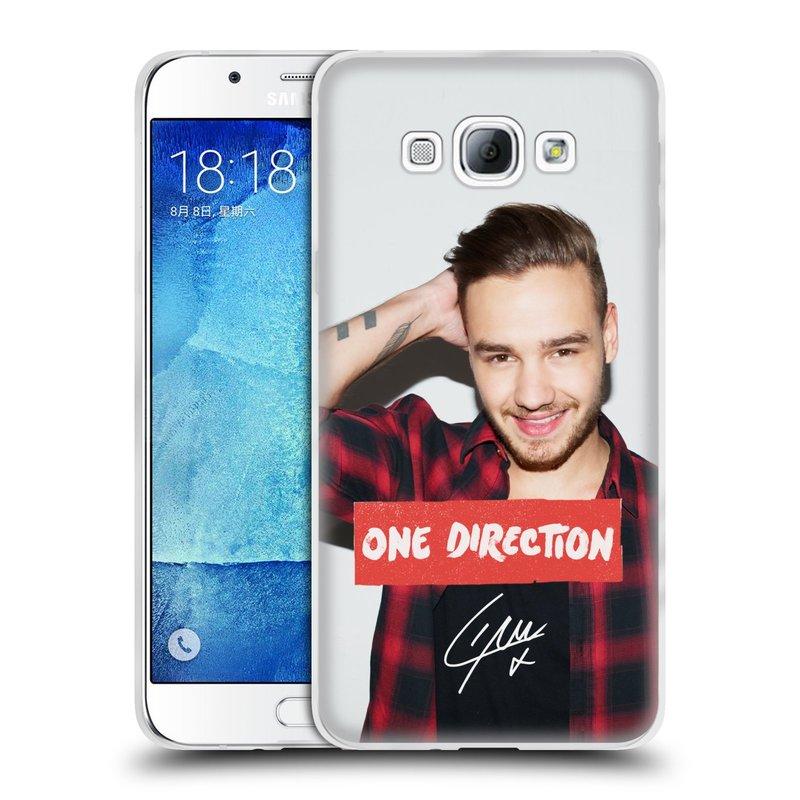 Silikonové pouzdro na mobil Samsung Galaxy A8 HEAD CASE One Direction - Liam (Silikonový kryt či obal One Direction Official na mobilní telefon Samsung Galaxy A8 SM-A800)