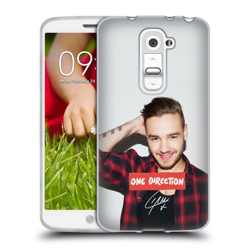 Silikonové pouzdro na mobil LG G2 Mini HEAD CASE One Direction - Liam (Silikonový kryt či obal One Direction Official na mobilní telefon LG G2 Mini D620)