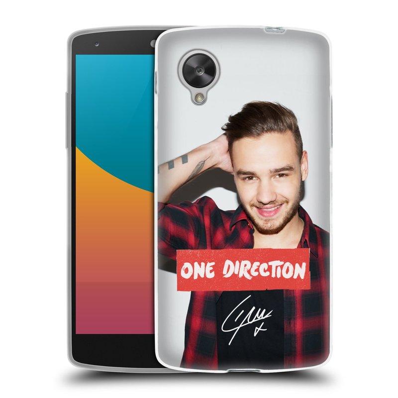 Silikonové pouzdro na mobil LG Nexus 5 HEAD CASE One Direction - Liam (Silikonový kryt či obal One Direction Official na mobilní telefon LG Google Nexus 5 D821)