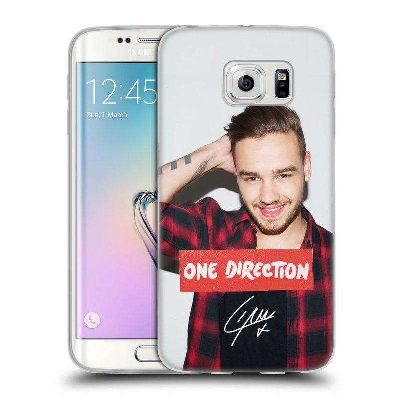 Silikonové pouzdro na mobil Samsung Galaxy S6 Edge HEAD CASE One Direction - Liam (Silikonový kryt či obal One Direction Official na mobilní telefon Samsung Galaxy S6 Edge SM-G925F)