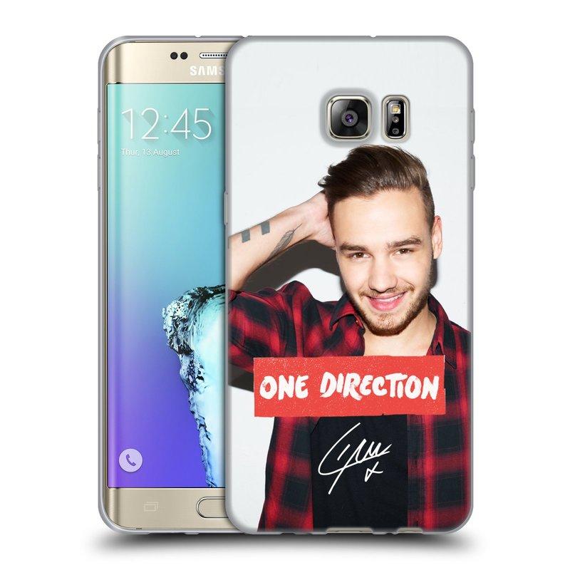 Silikonové pouzdro na mobil Samsung Galaxy S6 Edge Plus HEAD CASE One Direction - Liam (Silikonový kryt či obal One Direction Official na mobilní telefon Samsung Galaxy S6 Edge Plus SM-G928F)