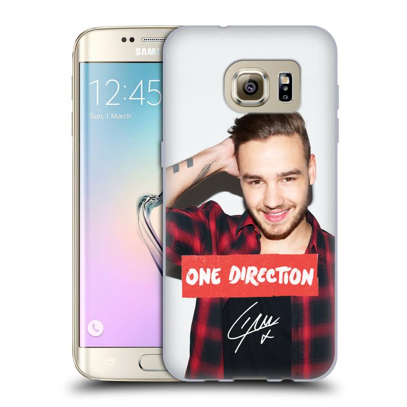 Silikonové pouzdro na mobil Samsung Galaxy S7 Edge HEAD CASE One Direction - Liam (Silikonový kryt či obal One Direction Official na mobilní telefon Samsung Galaxy S7 Edge SM-G935F)
