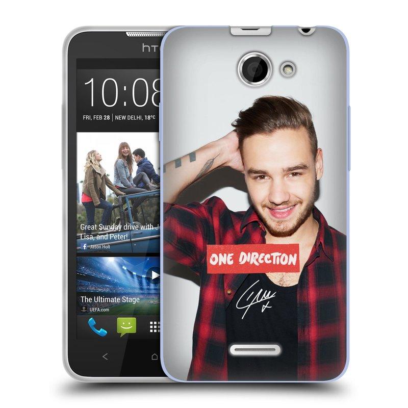Silikonové pouzdro na mobil HTC Desire 516 HEAD CASE One Direction - Liam (Silikonový kryt či obal One Direction Official na mobilní telefon HTC Desire 516 Dual SIM)